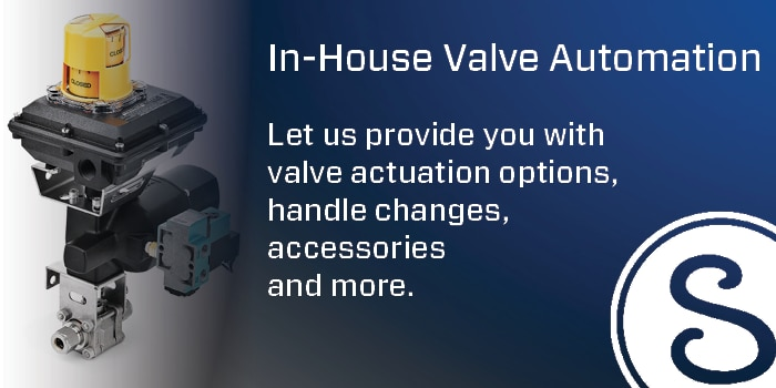 In-house Valve Automation
